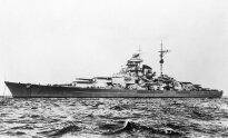 Didžiausias vokiečių karo laivas Tirpitz