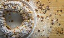 Plikytos tešlos pyragas