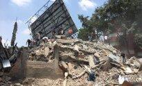 Galingas žemės Drebėjimas smogė Meksikai