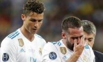 Cristiano Ronaldo ir Daniel Carvajal