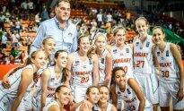 Europos jaunučių merginų U16 čempionatas: Lietuva - Vengrija