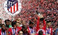 UEFA Supertaurę iškovojo Madrido Atletico