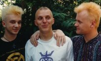 1991 m. Niujorkas. Su Bixais susitikome lėktuve ir tik atvykę į JAV su Samu nusibalinome plaukus.
