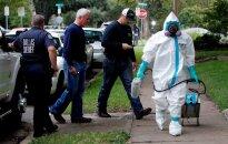 Ebolos virusas JAV Teksase