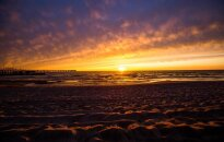 Picture of the week: Sunset at Palanga