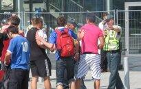 Civilinės saugos pratybose imituotas Europos vyrų krepšinio čempionatas