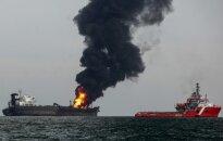 Meksikos įlankoje liepsnoja tanklaivis