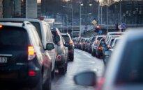 Automobiliai spūstyje