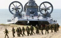 Zapad 2013 Russian military 'lands' on the shores of Kaliningrad