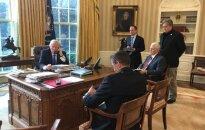 Pirmasis D. Trumpo ir V. Putino susidūrimas: ką parodė detalės?