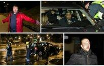 Naktinio reido metu pagauti 4 neblaivūs vairuotojai, į viešbutį nulydėtas žinomas krepšininkas