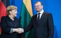 Merkel and Skvernelis