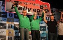 """G. Notkus ir D. Alekna """"Saaremaa"""" ralyje iškovojo pirmą vietą klasėje"""