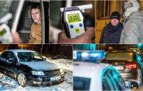 Policija: girtų vairuotojų nemažėja