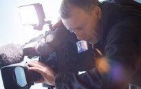 Sky News crew at DELFI