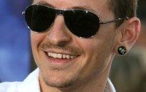 """Chesteris Benningtonas iš grupės """"Linkin Park""""."""