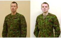 Karo policininkai A. P. Ridikas ir A. Vencevičius