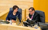 Loreta Graužinienė ir Vydas Gedvilas
