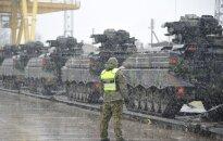 Vokiečių tankai – jau Lietuvoje