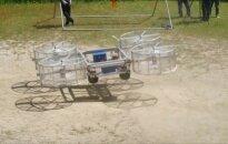 Japonų inžinieriai pristatė skraidančio automobilio prototipą
