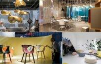 Apie baldų dizaino tendencijas ir biuro ateitį - tiesiai iš parodos