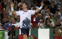 Škotas A. Murray po 4 valandų mūšio apgynė olimpinio čempiono vardą
