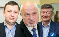 Antanas Guoga, Valentinas Mazuronis, Artūras Paulauskas