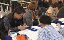 """Seulo oro uoste """"Samsung Galaxy Note 7"""" savininkams išduodami pakaitiniai telefonai"""
