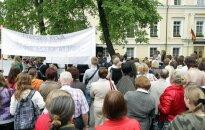 Teisės institutas: susirinkimų laisvės ribojimai turi būti aiškūs ir apibrėžti įstatyme