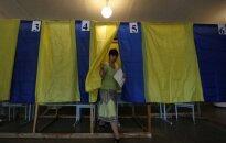 Ukrainos rinkimuose - kelios dešimtys Lietuvos stebėtojų