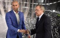 Zinedine'as Zidane'as ir Florentino Perezas