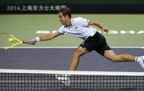 """""""European Open"""" ketvirtfinalyje – R. Gasquet ir G. Simonas"""