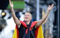 A. Ivanovič vedęs B. Schweinsteigeris baigė karjerą rinktinėje
