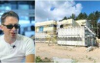 E. Dragūnas ir jo statomas namas