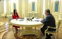"""Ukrainos prezidentas apdovanojo """"Eurovizijos"""" nugalėtoją Jamalą"""