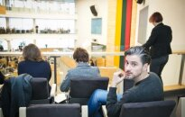 From the passenger's seat - at the Seimas