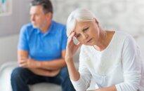 Priežastys, kodėl skiriasi dešimtmečiais kartu gyvenusios poros
