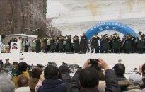 Sniego festivalyje Sapore - ledinis D. Trumpas ir Pikotaro
