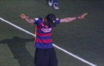 """""""Barcelona"""" klubas be L. Suareso ir L. Messi audringai atšventė dvigubą triumfą"""