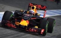 Danielis Ricciardo su Red Bull Racing automobiliu