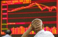 Nuosmukis Kinijos akcijų rinkose