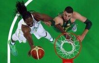 Lithuanian basketball team snatches close victory in Rio Olympics