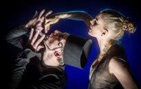Valentinas Krulikovskis ir Jevgenija Gladij spektaklyje Septynios gražuolės