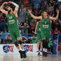 Baskonia krepšininkai – Tornikė Šengelija ir Johannesas Voigtmannas