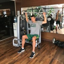 Mantas Kalnietis jau sportuoja Palangoje
