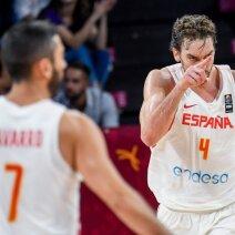 Ispanijos rinktinė atlaikė rusų šturmą ir iškovojo Europos čempionato bronzą
