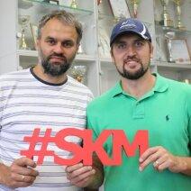 D. Sabaliauskas ir D. Vileita – sėkmingas krepšininkų karjeras turėję SKM treneriai