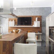 Sala virtuvėje – už ar prieš?