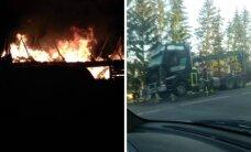 Antradienį – du skaitytojų pranešimai apie gaisrus
