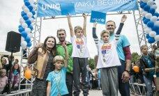 Jubiliejiniame UNICEF vaikų bėgime – stulbinanti varžybų dvasia
